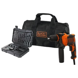 Black and Decker - Berbequim com Percusso 710W com set 32 acessrios e saco de transporte - BEH710SA32