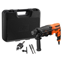 Black and Decker - Martelo SDSPlus 650W com mala - BEHS01K
