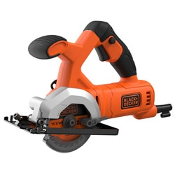Black and Decker - MiniSerra Circular 400W 85mm com 2 discos - BES510