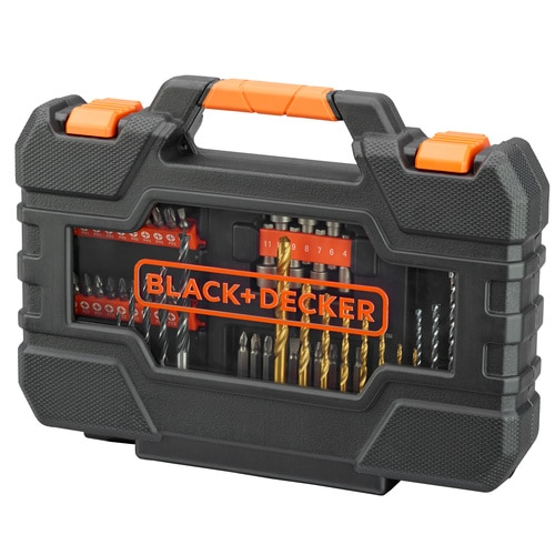 Black and Decker - Conjunto de perfurao e conduo de 76 peas Easy Grip - A7231
