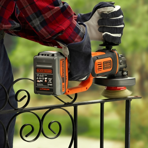 Black and Decker - Rebarbadora 18V 40Ah Litio - BCG720M1