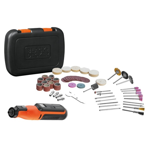 Black and Decker - MultiFerramenta Rotativa 72V com 53 Acessrios e Mala - BCRT8IK