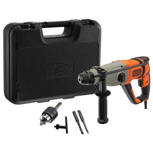 Black and Decker - Martelo SDSPlus 800W com mala - BEHS02K