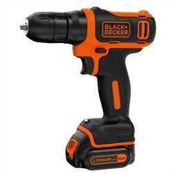 Black And Decker - Berbequim aparafusador 108V LitioIon - BDCD12