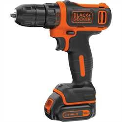 Black And Decker - Berbequim aparafusador 108V Litio Ultra Compacto com mala - BDCDD12K