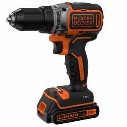 Black and Decker - Berbequim Aparafusador Brushless 18V 15Ah com mala - BL186KB