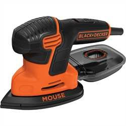 Black And Decker - Lixadora Mouse 120W com saco e 6 acessrios - KA2000