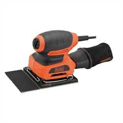 Black and Decker - Lixadora orbital 170W 14 de folha - KA401LA