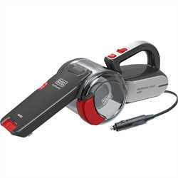 Black and Decker - Aspirador de Carro Pivot 12V - PV1200AV