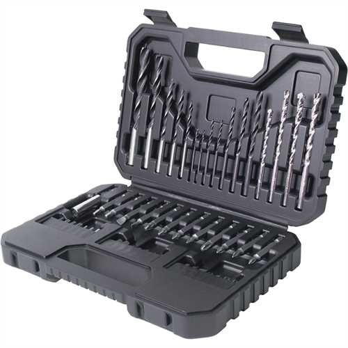 Black and Decker - Set 50 peas brocas e pontas - A7217