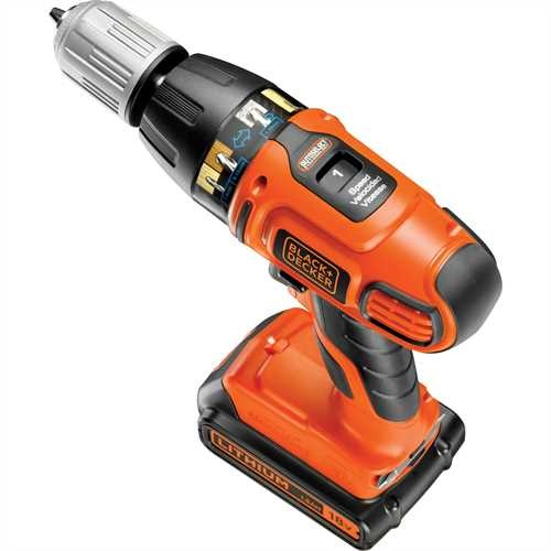Black and Decker - Berbequim Percutor on Ltio Autoselect Sem Fio 18V - ASL188KB