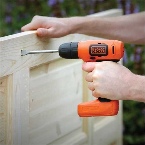 Black and Decker - Berbequim aparafusador sem fio 72V LitioIon - BDCD8