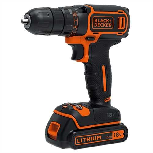 Black and Decker - Berbequim 18V - BDCDC18K