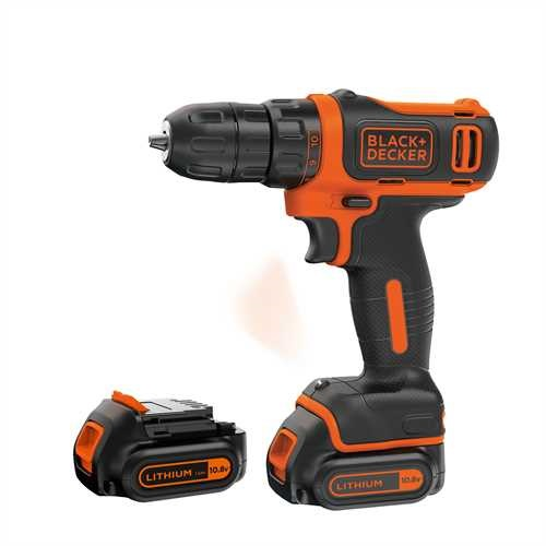 Black and Decker - Berbequim aparafusador 108V - BDCDD12KB