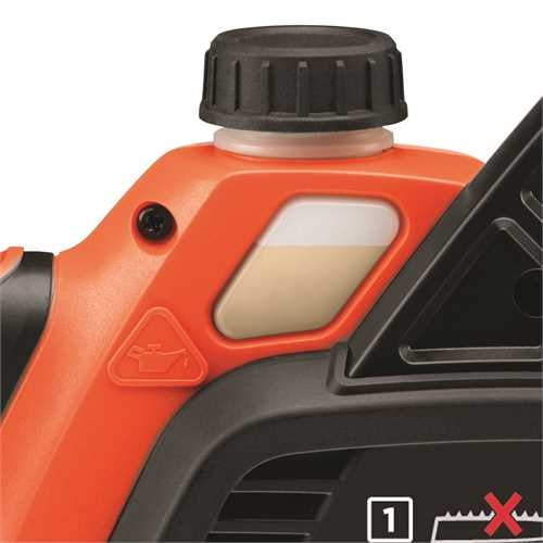 Black and Decker - Motosserra 36V 20Ah Ltio 30cm - GKC3630L20
