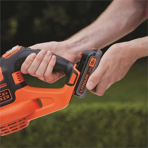 Black And Decker - Soprador POWERCOMMAND Boost 18V - GWC1820PC