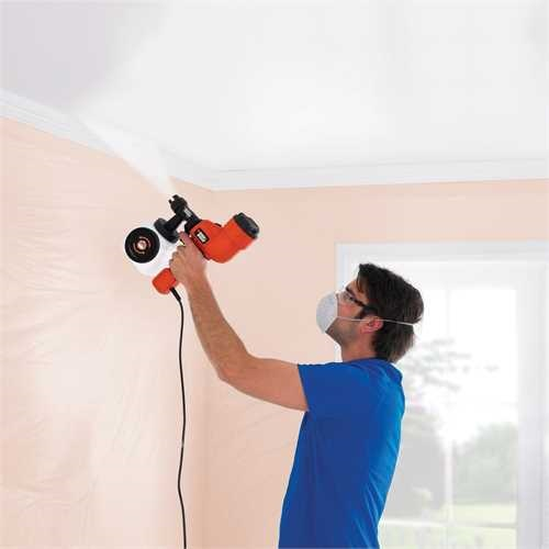 Black and Decker - Sistema de pulverizao fino  Turbina de mo - HVLP200