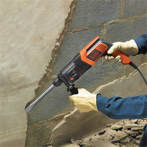 Black and Decker - PT 550W 16J Pneumatic Hammer Drill - KD885KC