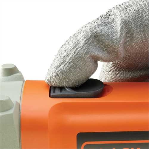 Black and Decker - Rebarbadora de acabamentos 750w 115mm - KG115