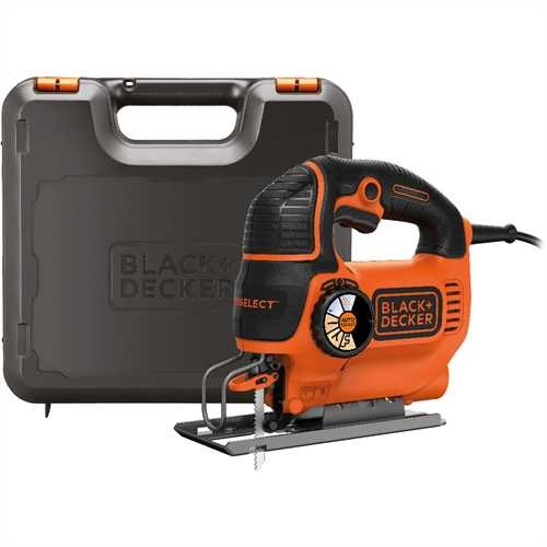 Black and Decker - Serra de Recortes 550W Autoselect - KS801SEK