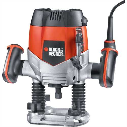 Black and Decker - Tupia de 14 1200W com 11 acessrios - KW900EKA